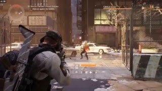 Gameplay on ASUS ROG GL552VW The Division Graphics Test