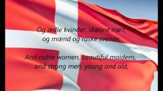Danish National Anthem   Der Er Et Yndigt Land DK EN