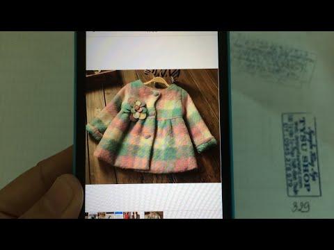 329-thiết Kế áo Khoác Tay Dài Cho Bé