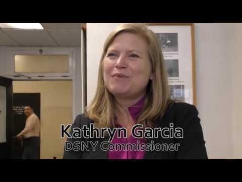 New York Waste Management DSNY Commissioner Kathryn Garcia