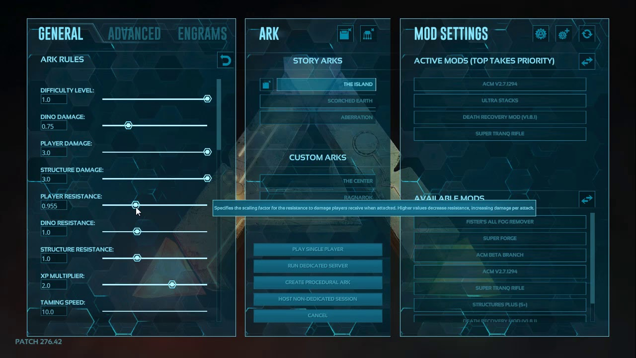 Ark Settings Explained, Supply Crates, Joining a Server, and misc