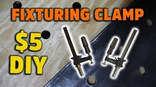 Workbench Clamps: Fixturing Clamp for Welding and Woodworking (DIY Insertra clamp) - HNB #1