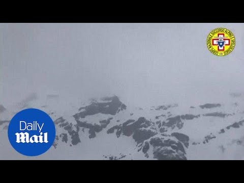 Severe snowstorm in Swiss Alps traps and kills four skiers - Daily Mail