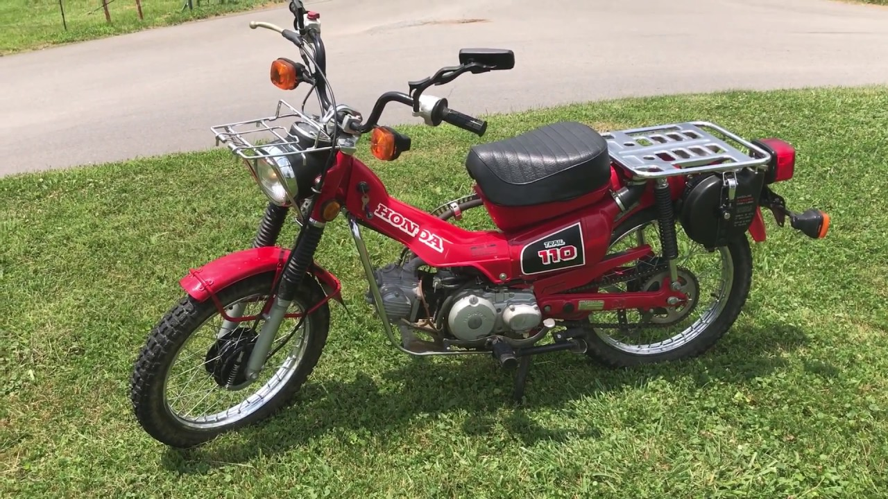 Honda Trail 110 >> 1986 Honda Trail 110 For Sale 925 Miles Excellent Condition