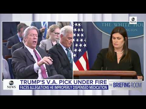 White House briefing likley on Iran deal, Macron, Ronny Jackson | ABC News