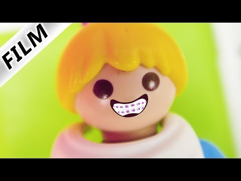 Familie Vogel: HANNAH BEKOMMT ZAHNSPANGE! BEIM ZAHNARZT MIT MAMA + DAVE - Playmobil Film Deutsch - 동영상