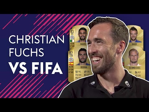 Who Has The WORST Weak Foot At Leicester City?! | Christian Fuchs vs FIFA 18 🔥🔥🔥