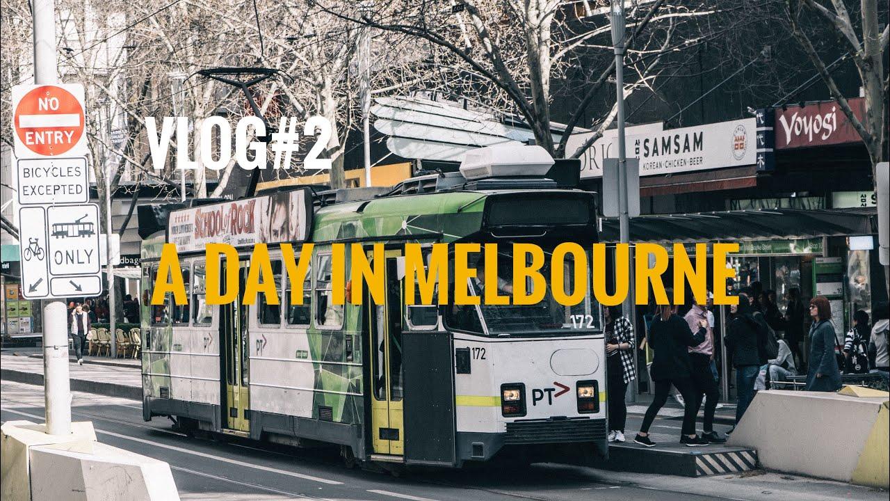 Vlog#2 Một Ngày Ở Melbourne | Không Có Tàu Lên City, Đi Ăn Phở, Chè | Culinary Frank