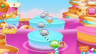 Let's Play - Candy Crush Jelly Saga iOS (Level 121 - 130) screenshot 4