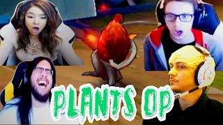 LOL PLANTS OP COMPILATION | PLANTS JUNGLE MECHANICS | @LeagueOfLegends
