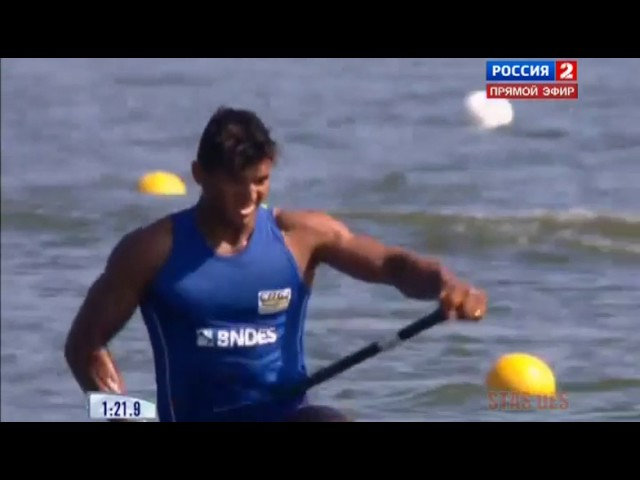 C1 1000m Men's Final A 2014 ICF Canoe Sprint World Championships Moscow