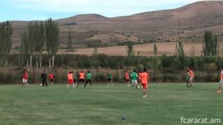 FC Ararat Yerevan training