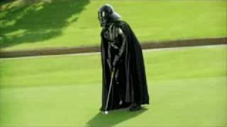 Дарт Вейдер играет в гольф