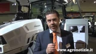 Lamborghini presenta i trattori Strike ad Eima 2016