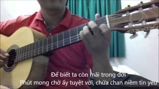 Lang nghe mua xuan ve - Mua xuan tren TpHCM [Guitar Solo] [K'K]