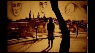 """Песочный фильм памяти Виктора Цоя """"Последний герой. Чтобы Ждать"""" (Ксения Симонова)"""