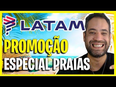 MEGA PROMOÇÃO LATAM - ESPECIAL PRAIAS 2021!