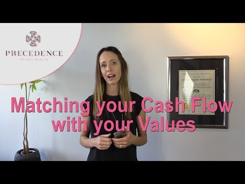 Matching Cash Flow and Values