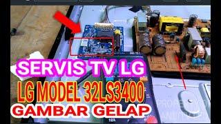 SERVIS TV LED LG LAMA GAMBAR G…