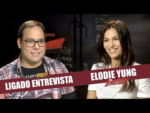 Ligado Entrevista | Elodie Yung, a Elektra de Demolidor!