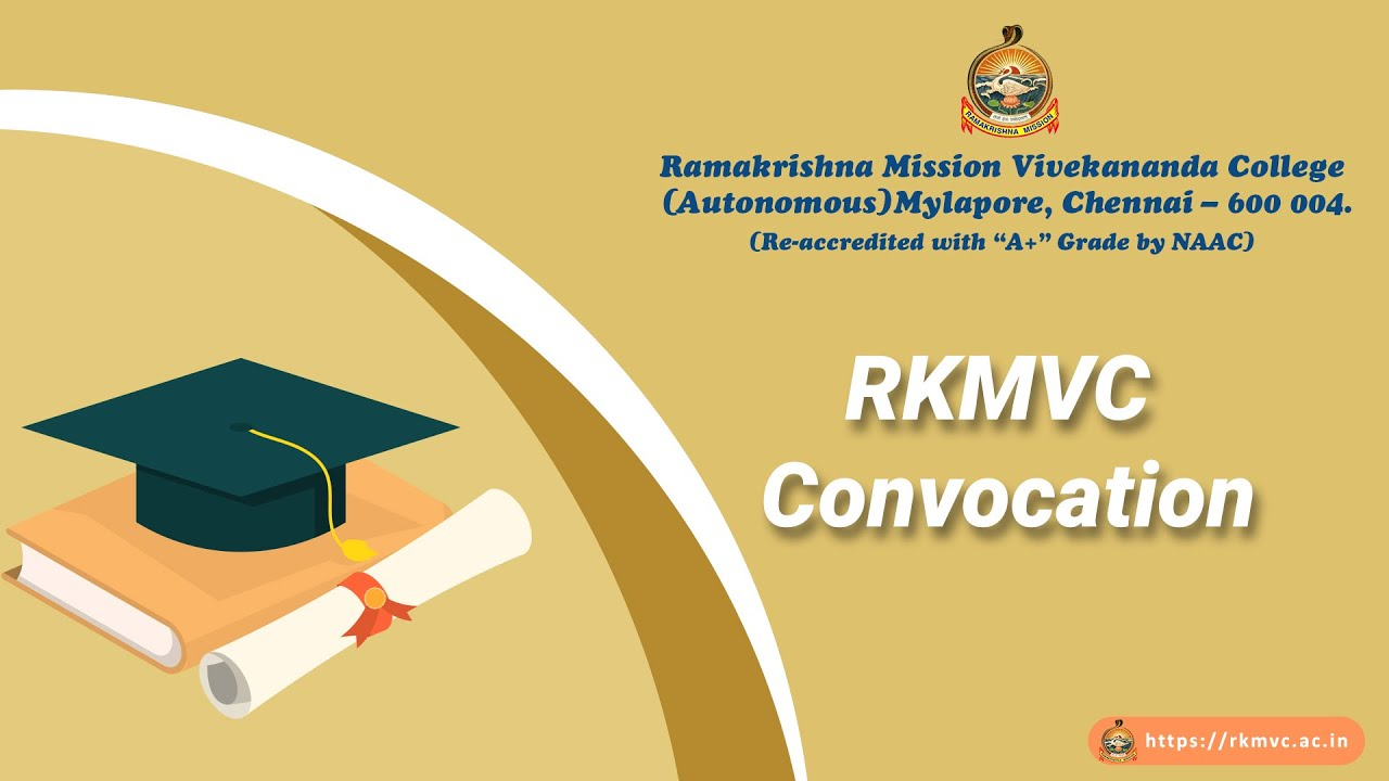 Graduation Day | Ramakrishna Mission Vivekananda College