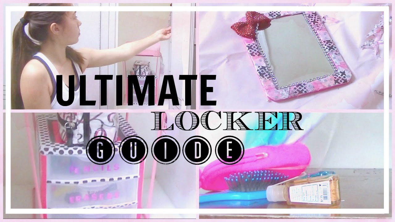 The Ultimate Locker Guide: Tips, DIYs + How I Decorate My Locker | Riley  Meow