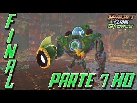 Ratchet & Clank QForce - Guarida de la perdición de Zurgo - Planeta Ebaro - Parte 7 HD FINAL