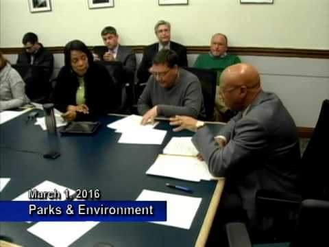 Parks and Environment - March 1, 2016
