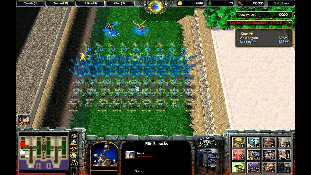 Warcraft 3 Legion TD 2 8 1 05 Level 40!!!