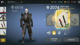 Shadow fight 3 upgrade Iaido katana | become a big bully