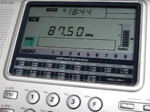 FM DX: FM1 Pershe Radio Odessa 87.5 MHz received in Germany via Sporadic-E
