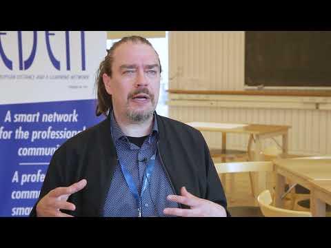 Ludic Literacy - Frans Mäyrä interviewed by Steve Wheeler #EDEN17