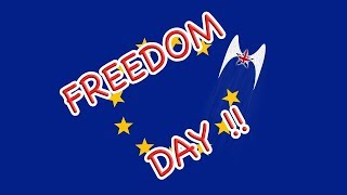 Brexit Freedom Day is Set!