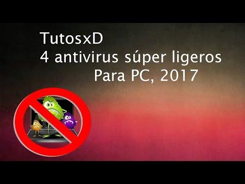 4 antivirus súper ligeros para windows , 2017 GRATIS