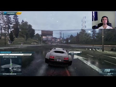 NFS Most Wanted 2012 - ESTAMOS COM O BUGATTI VEYRON!!! - #14