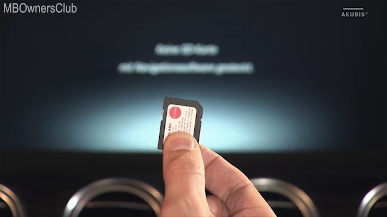 Mercedes Benz Presentation Of Sd Card Navigation Ntg 5 5 W205 W213 W238 C238 With Code 506 Youtube
