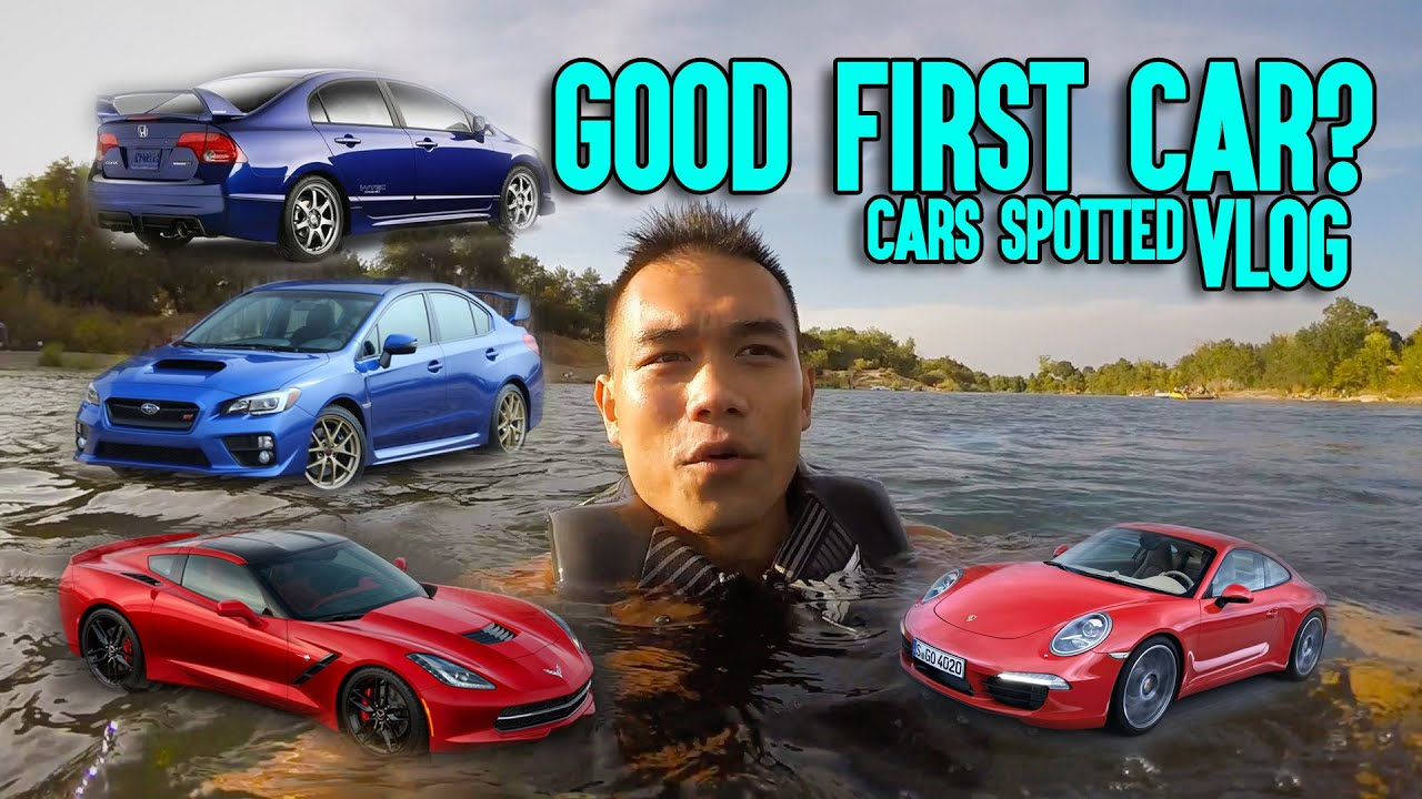 What is a Good First Car - Cars Spotted on Sacramento Road Trip Vlog ...