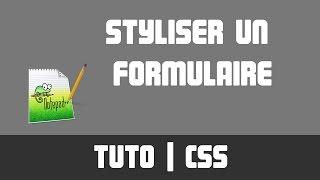 TUTO CSS - Styliser un formulaire
