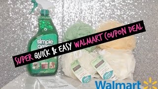 Walmart Coupon Deal 3/16/17 ~ $0.35 For All Five Items!