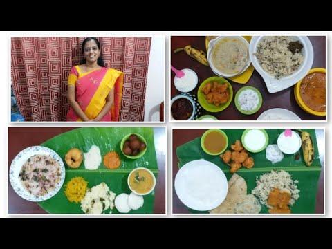 VLOG DIWALI SPL/ONE DAY FULL MENU/Breakfast/Lunch/venpongal,kesari,pulao,Paneer kari,65,idly,sambar
