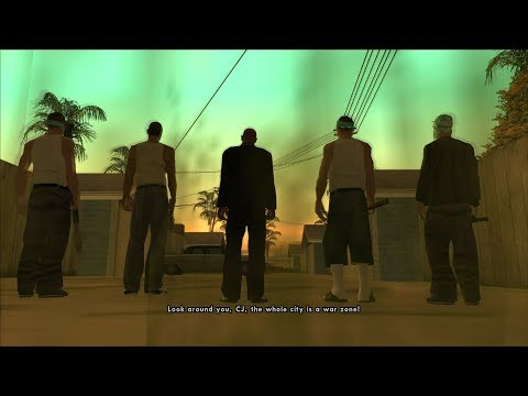 GTA San Andreas (PC) | Gameplay With Mods #17 | SkyGFX , CJ With Fingers, PS2 Features To PC | 1080p