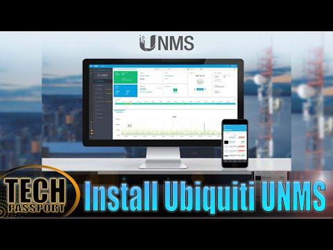 Installing UNMS - Ubiquiti Network Management System