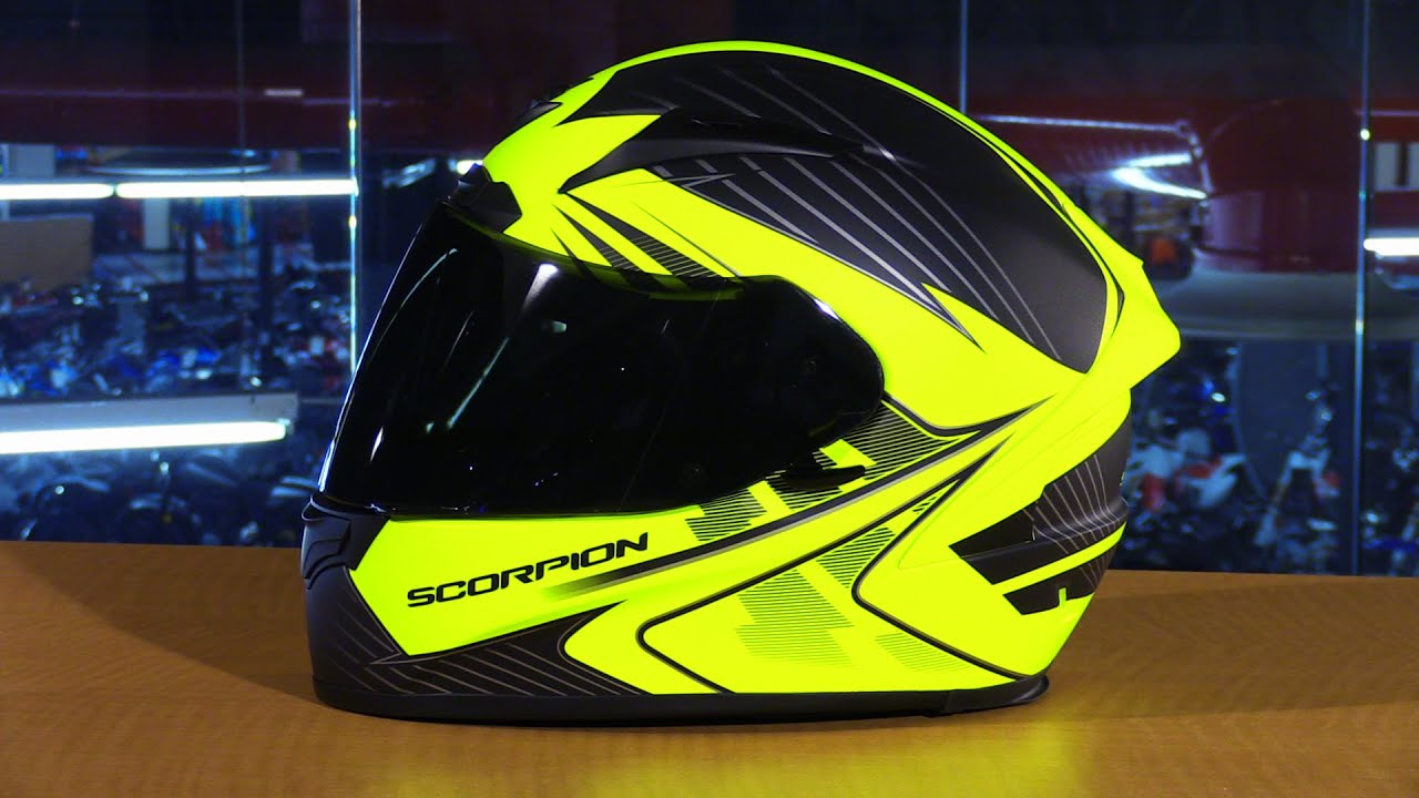 popular stores outlet online sale uk Scorpion EXO EXO-R2000 Ravin Full Face Motorcycle Helmet Review ...