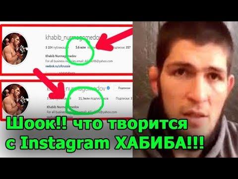 Instagram ХАБИБА Нурмагомедова неожиданно BЗОРВАЛСЯ после UFC 229