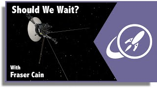 Should We Fly to Another Star Soon? Or Wait for Better Technology to Come Along?
