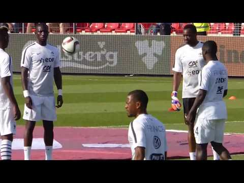 Patrice Evra ● Paul-Georges Ntep ● Paul Pogba ● Christophe Jallet  ● Albanie vs France 2015
