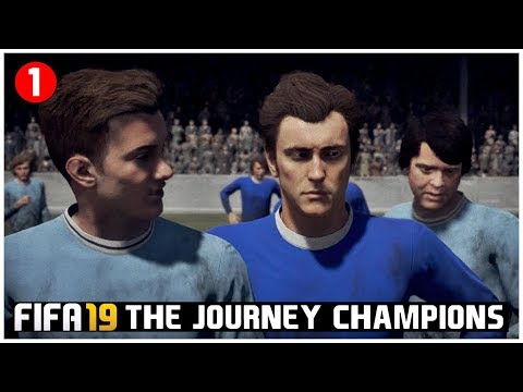 FIFA 19 Indonesia The Journey Champions: Kisah Masa Lalu & Gol Volley Bersejarah Jim Hunter #1
