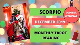 "SCORPIO - ""EX WANTS YOU BUT NEW PERSON IS COMING!"" DECEMBER 2019 MONTHLY TAROT READING"