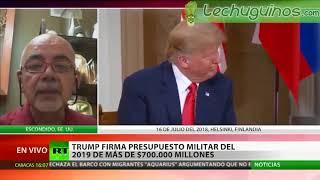 Donald Trump tiene más enemigos con el nuevo presupuesto militar