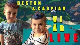 CASPIAN 7YR DESTAN 9YR ❤️ ❤️😱 Use Code: TSN-Caspian 🔥 FORTNITE LIVE ON ENGLISH